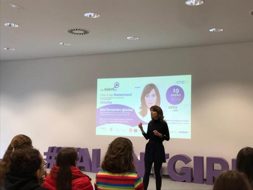 Avilés acoge el  STEM Talent Girl